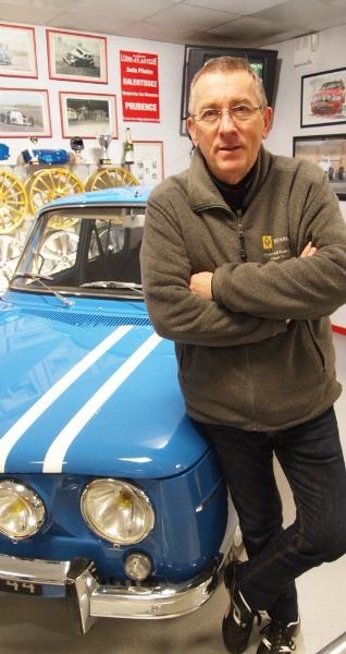Patrick Hervouet de Nantes Equip Auto et sa R8 Gordini