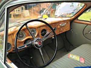 Superbe intérieur de voiture ancienne