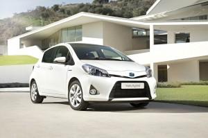 La citadine hybride Toyota Yaris