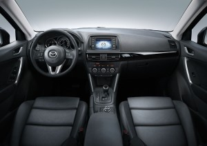 Habitacle du Mazda CX-5