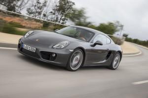Porsche-Cayman-cornering