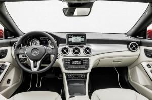 Mercedes CLA intérieur