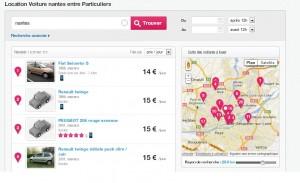 Autopartage Drivy Nantes