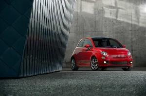 Citadines chics Fiat 500