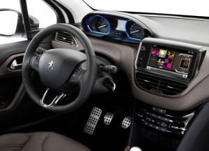 Peugeot 2008 intérieur