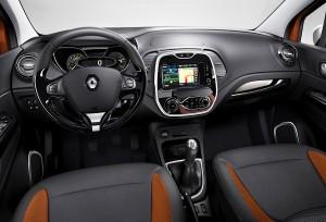 Renault Captur intérieur