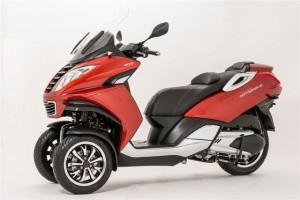 Scooter trois roues - Peugeot Metropolis