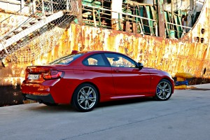 BMW Série 2 arrière