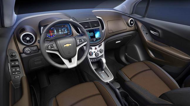 Chevrolet trax du nouveau chez les suv nantes auto moto for Chevrolet interieur
