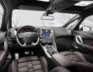 Citroën DS5 hybride - intérieur