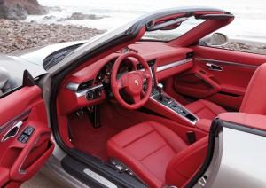 Porsche 911 Cabriolet intérieur