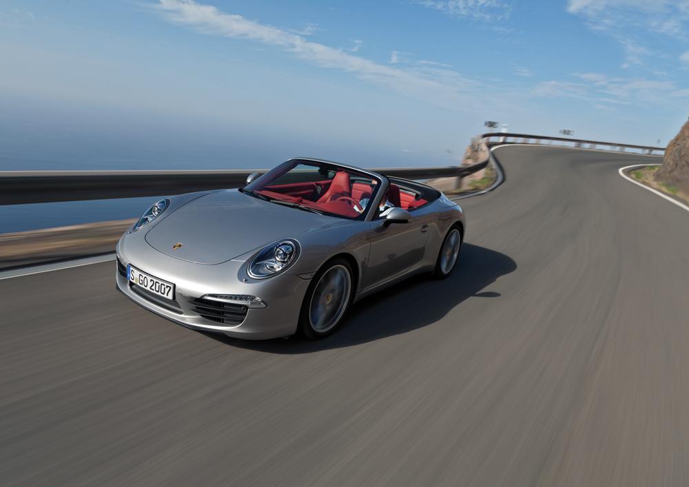 Porsche 911 cabriolet auto moto magazine - Meilleurs cabriolets 4 places ...