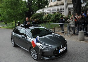 Citroën DS5 hybride - françois hollande