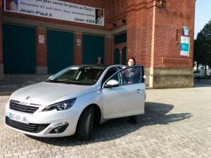Nouvelle Peugeot 308 - avant