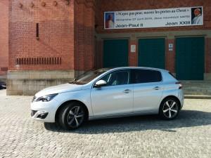 Nouvelle Peugeot 308 - profil