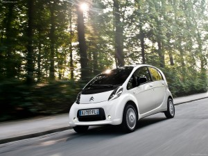 Voiture électrique - Citroën C-Zero