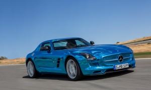 Voiture électrique - Mercedes SLS AMG ED