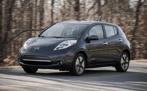 Voiture électrique - Nissan Leaf