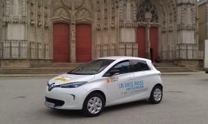Voiture électrique - Renault Zoé