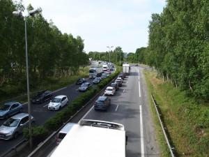 Bouchon Nantes - Embouteillage direction Rennes
