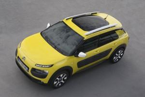 Citroën C4 Cactus - Vue de dessus