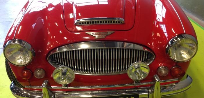 Austin Healey Mk2 avant