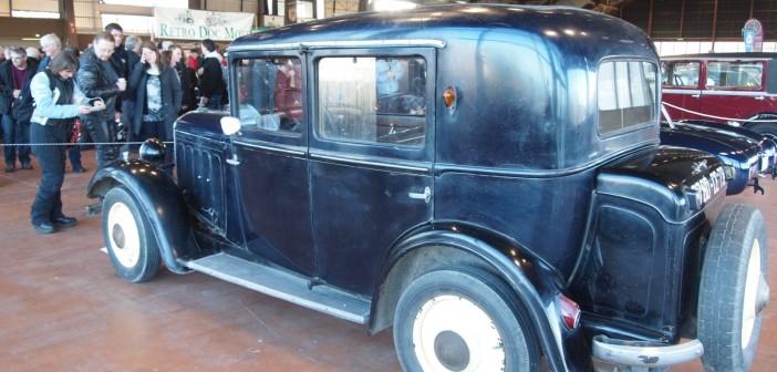 Peugeot 201 arrière