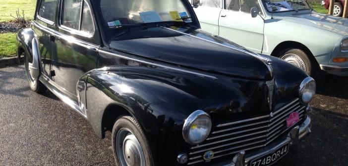Peugeot 203 noire