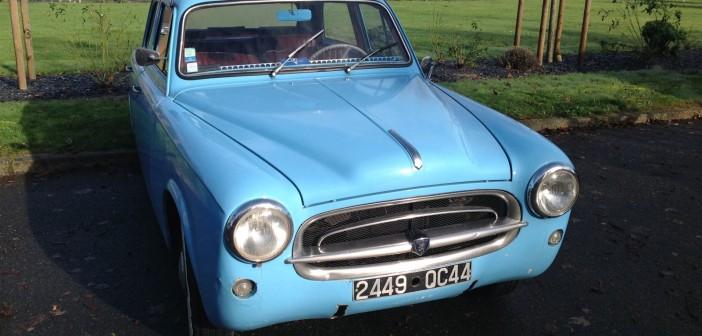 Peugeot 403 bleue