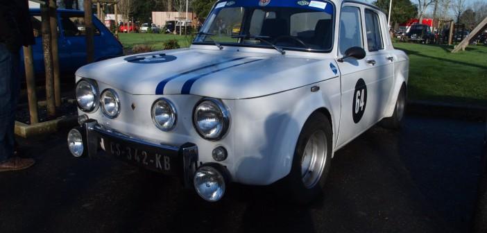 Renault R8 Gordini blanche