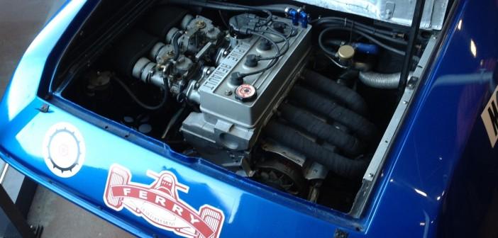 Renault Alpine moteur