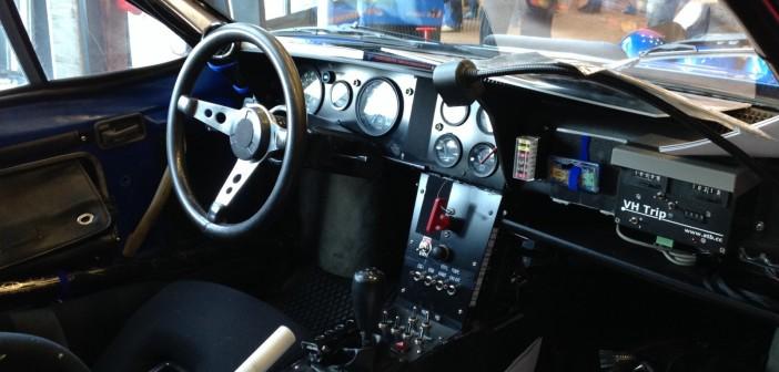 Renault Alpine intérieur