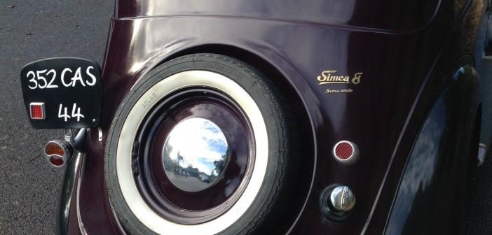 Simca 8 arrière