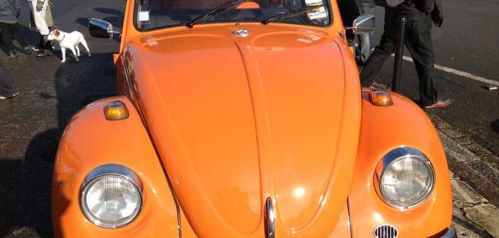 Volkswagen Coccinnelle Orange avant