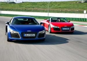 Audi R8 face