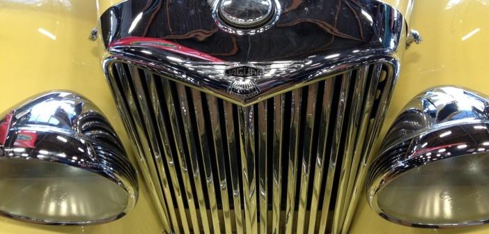 Jaguar Mk IV calandre