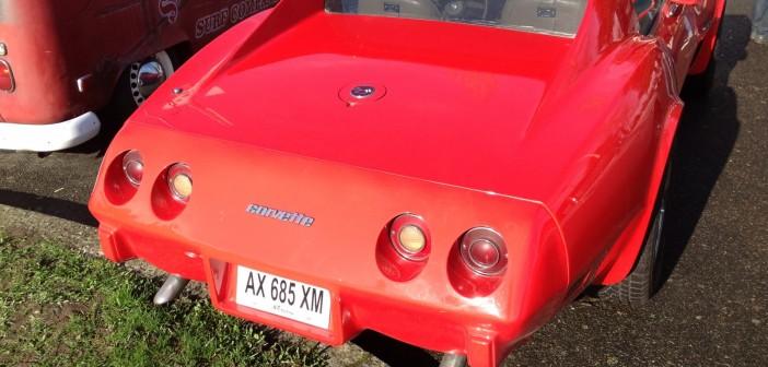 Chevrolet Corvette arrière droite