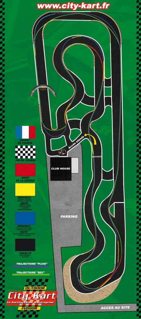 City Kart - circuit Sautron