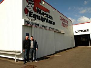 Nantes Equipauto - Nicolas Martinez et Patrick Hervouet