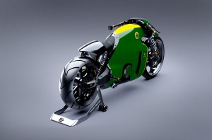 Lotus C-01 arrière