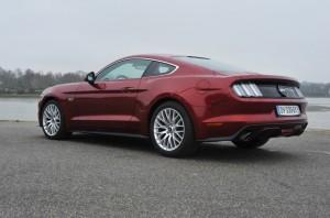 Mustang derrière