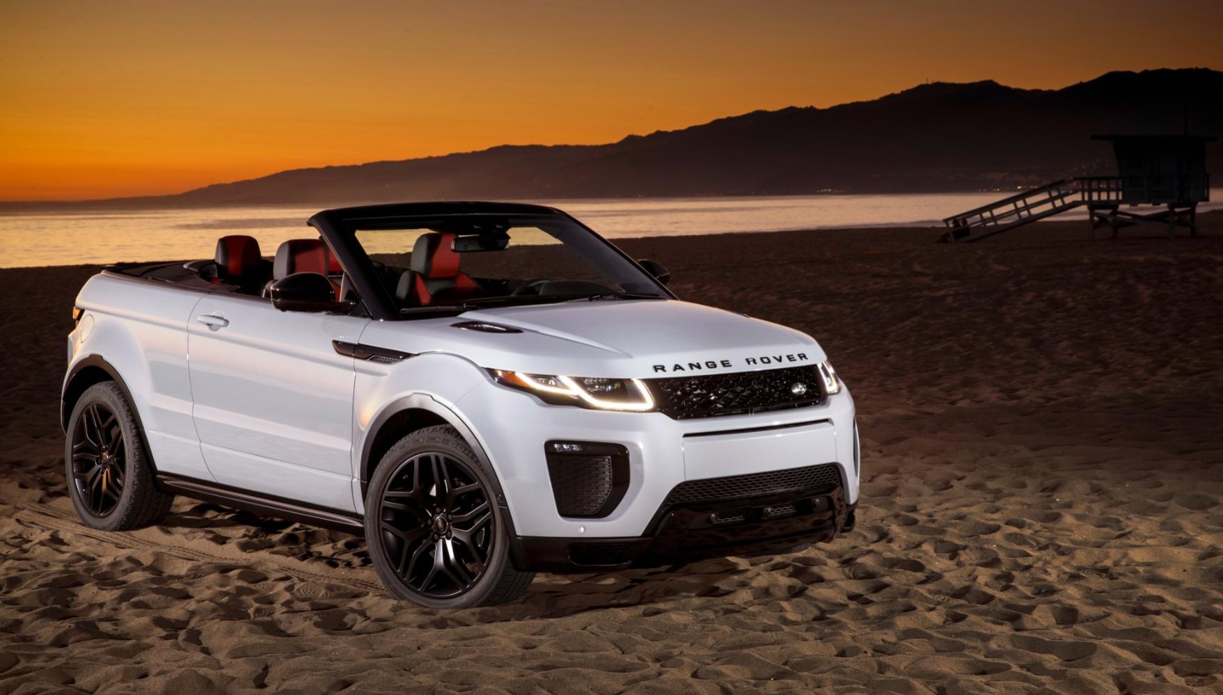 range rover evoque cabriolet la star qui enl ve le haut auto moto magazine. Black Bedroom Furniture Sets. Home Design Ideas