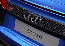 Audi R8 V10 Spider au Mondial