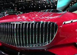 Fantastique Mercedes Maybach Vision 6