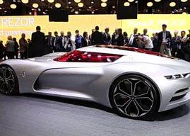 Magnifique Renault Trezor au Mondial