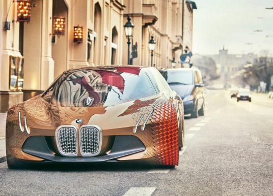 BMW imagine la voiture de demain