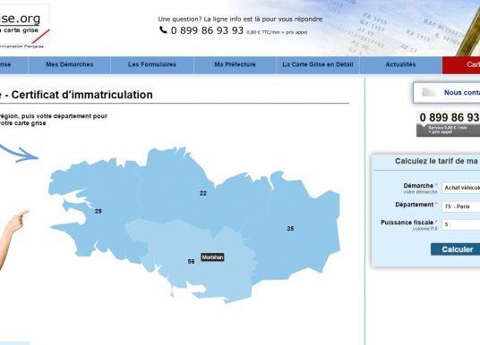 Où faire la carte grise à Lorient