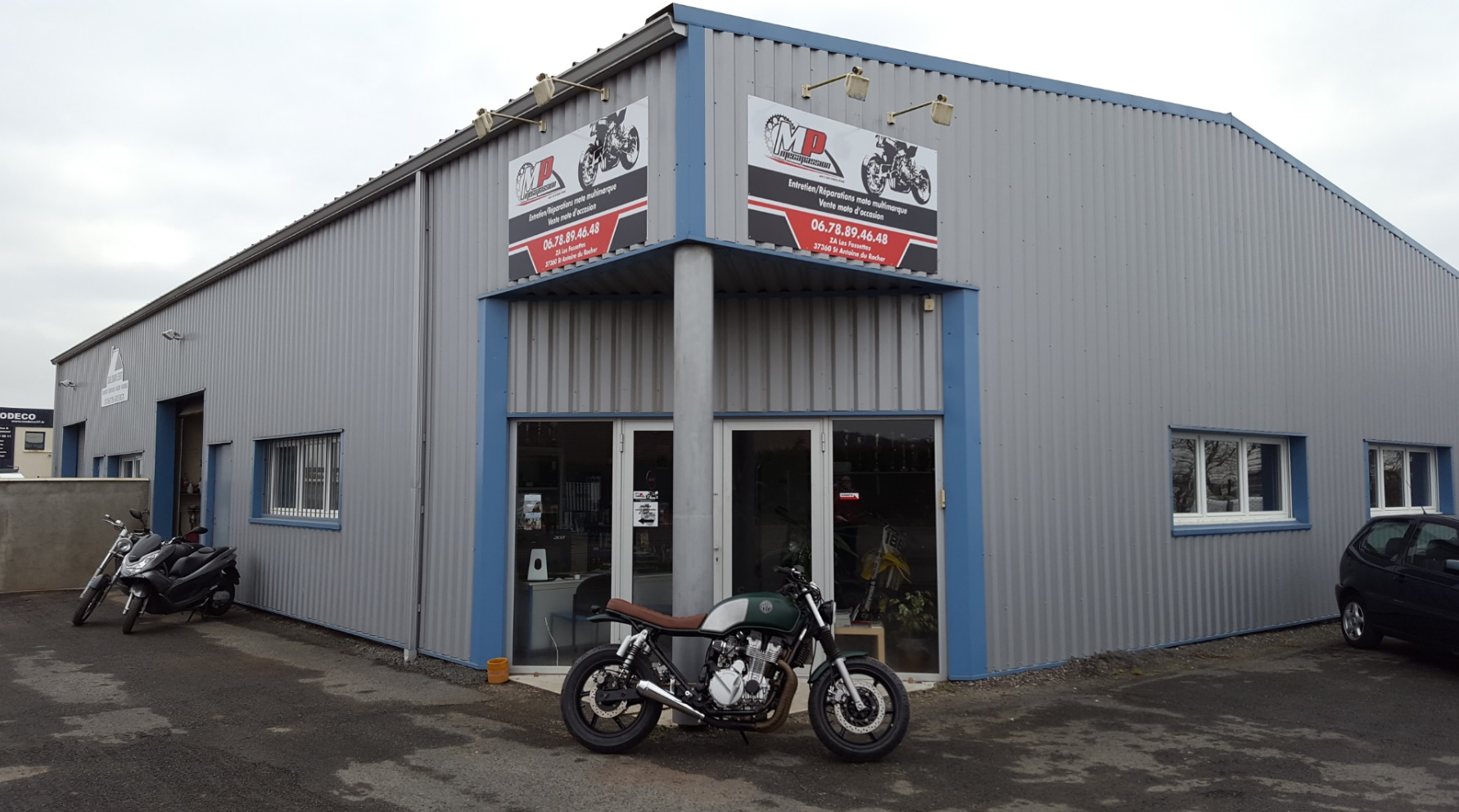 Mecapassion au service des motards auto moto magazine for Garage ford la baule