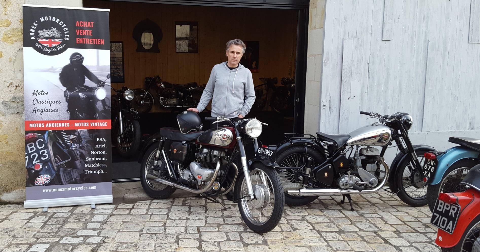 annex motorcycles de belles anglaises pour vous auto moto magazine. Black Bedroom Furniture Sets. Home Design Ideas