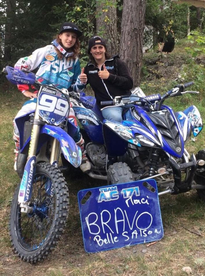 Anais Cartault De Retour Sur Les Circuits De Moto Cross